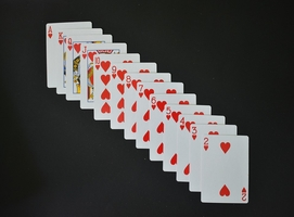 Take a look at Play Hearts Card Game 14